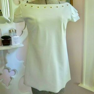 Chiara Boni Italy Polamide Top Dress Shirt 40